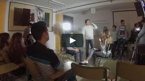 alumnos cine