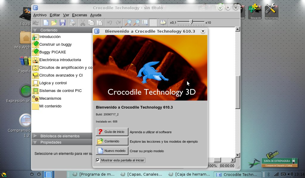 Crocodile-Technology app