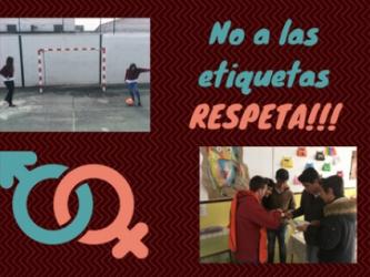 NO A LAS ETIQUETAS. ¡RESPETA! Colegio  María de la Paz Orellana. Grupo Comunic@TIC