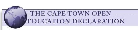 Declaración de Ciudad del Cabo para la Educación Abierta