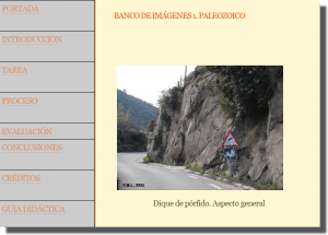 Webquest Itinerario Geológico